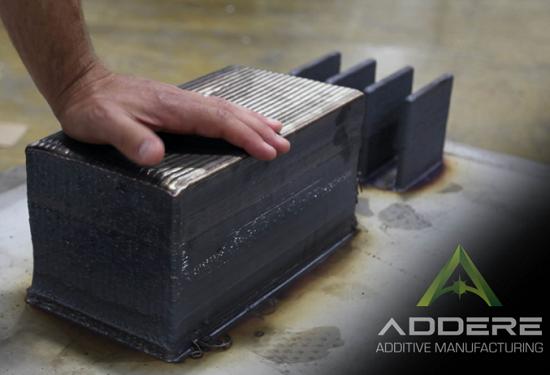 新技术!激光电弧混合可实现最大达40米的超大型金属3D打印效果