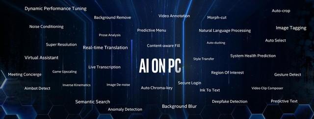 AI釋放無限可能 英特爾重新定義PC體驗演進方式