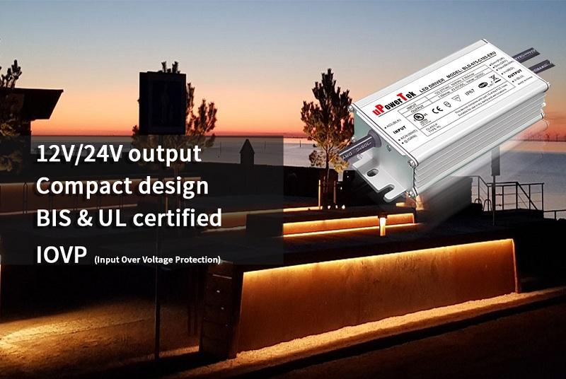 优特电源推出紧凑型60-100W恒压LED驱动电源