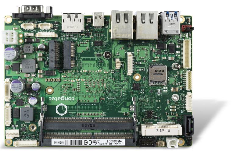 康佳特3.5英寸单板计算机(SBC)实现工业级无损计算