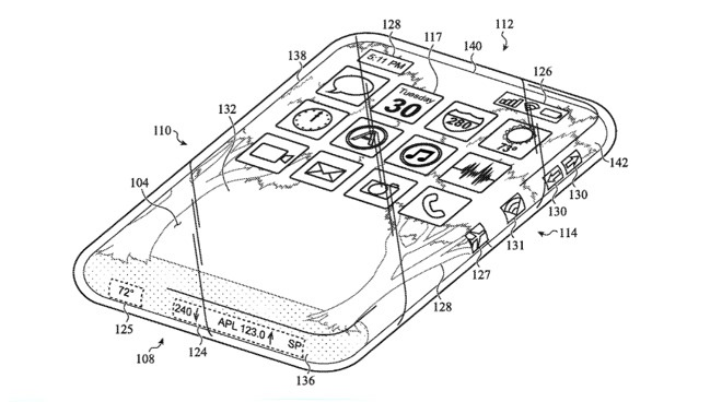 """蘋果新磚利曝光:環繞式""""多""""觸摸屏的全玻璃iPhone"""