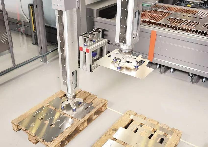 智慧工厂:钣金制造业的未来