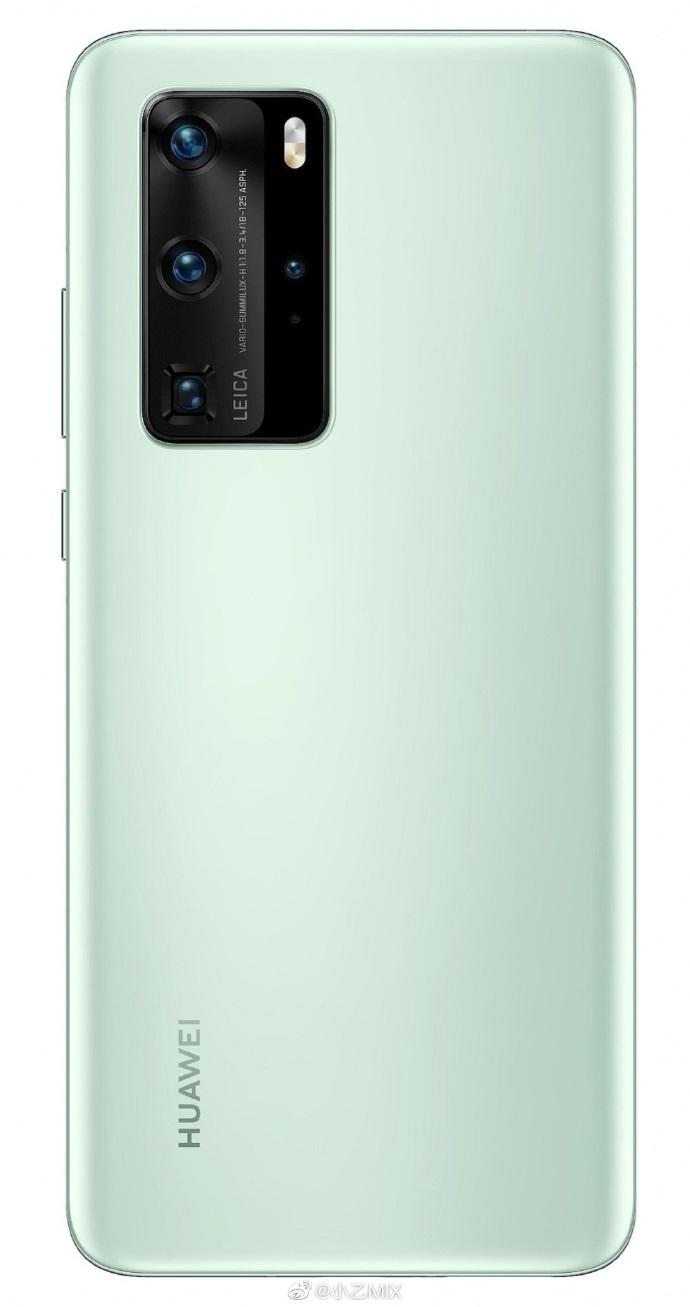 华为 P40 Pro再曝光:多挖孔,四曲面屏幕