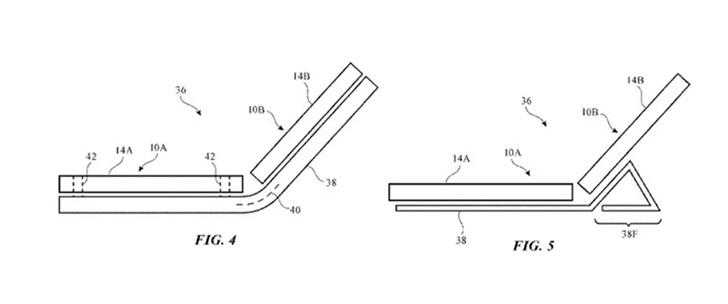 苹果申请折叠手机专利:类似微软Surface Duo