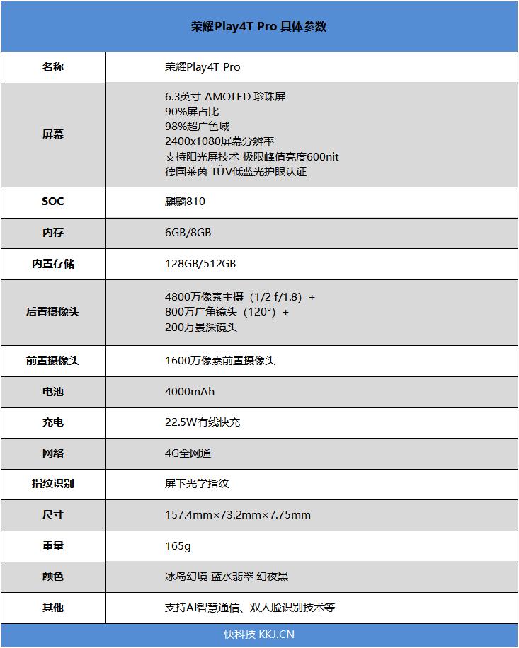 荣耀Play4T Pro评测 麒麟810加持的千元游戏神机