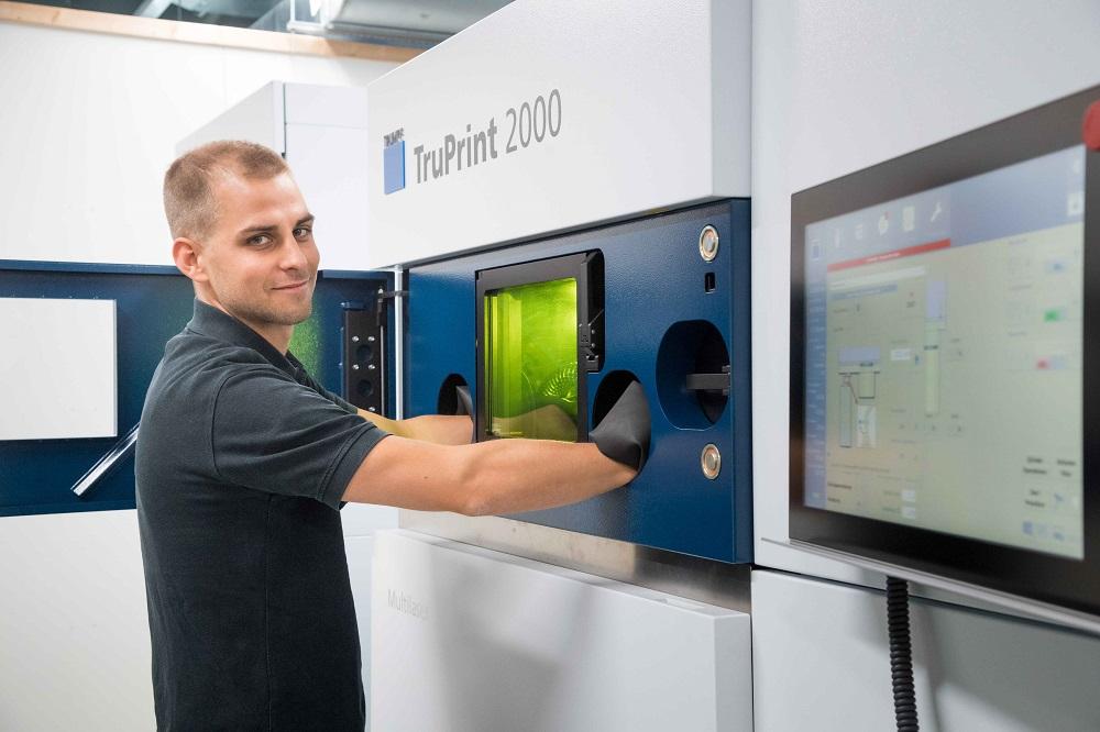 贺利氏携手通快,为非晶态金属的工业级3D打印拓展新应用