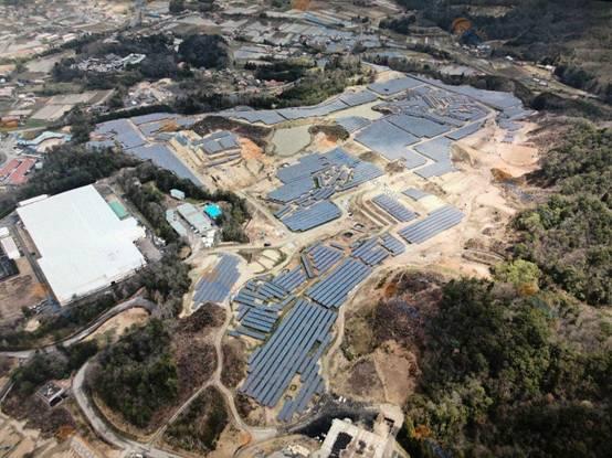 47MW日本岛根光伏电站,格瑞士为项目建设保驾护航