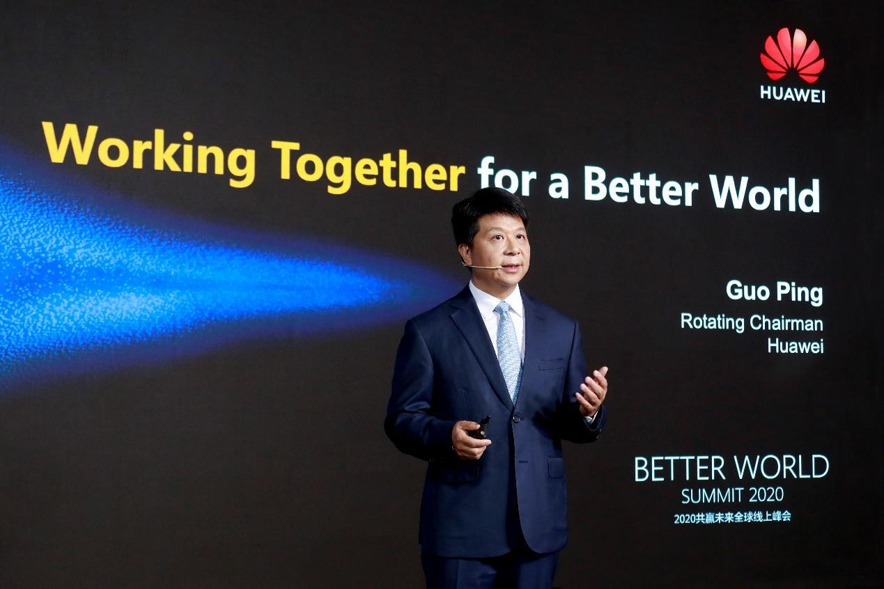 """华为郭平:5 """"机"""" 协同,聚焦5G商业成功,充分释放5G网络红利"""