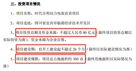 """总投资超270亿元!宁德时代""""广撒网"""""""