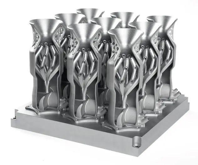 革新金属3D打印基板的分离工艺,GF加工方案CUT AM 500