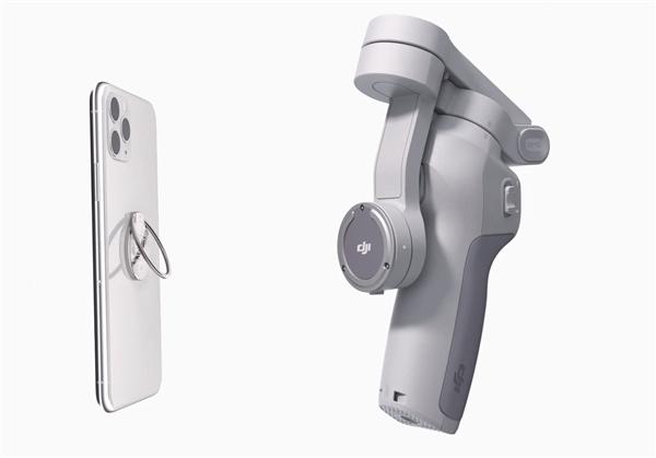大疆发布第四代手机云台DJI OM 4:巧妙磁吸、只需899元