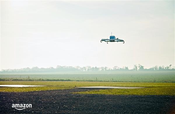 亚马逊空中快递获 FAA 批准
