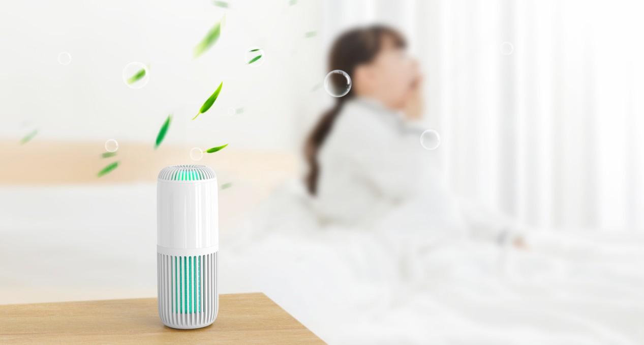 杀菌除醛一步到位,耐奥金V1 Lite空气净化器,让家人健康呼吸