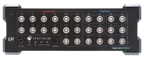 Spectrum仪器推出hybridNETBOX,集多通道AWG与数字化仪于一体