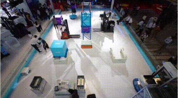 新品推介 | 激光SLAM平衡重堆垛式自动叉车SFL-CPD15-T