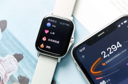 华米科技Amazfit GTS 2智能手表凭轻薄机身,开启无感佩戴时代
