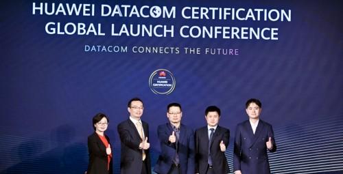 华为面向全球发布Datacom认证 未来三年培养15万数据通信网络人才