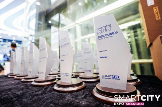 华为客户荣膺2020全球智慧城市大会三项城市大奖和三项入围奖