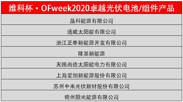 筑梦新征程,光伏再出发!OFweek 2020太阳能光伏产业大会成功举办