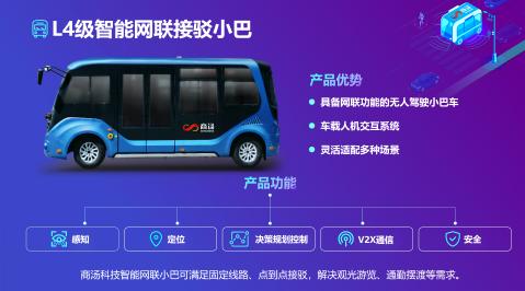 商汤发布L4级接驳小巴和智能路侧感知解决方案,加速V2X产业创新
