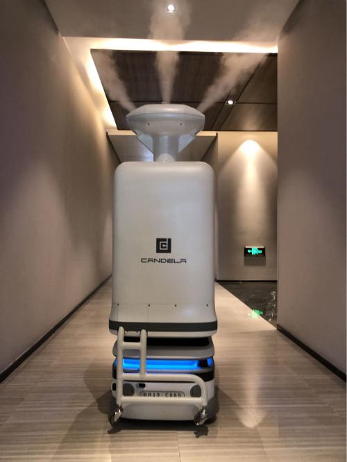 """坎德拉(深圳)科技创新有限公司参评""""维科杯·OFweek 2020中国机器人行业优秀产品奖"""""""