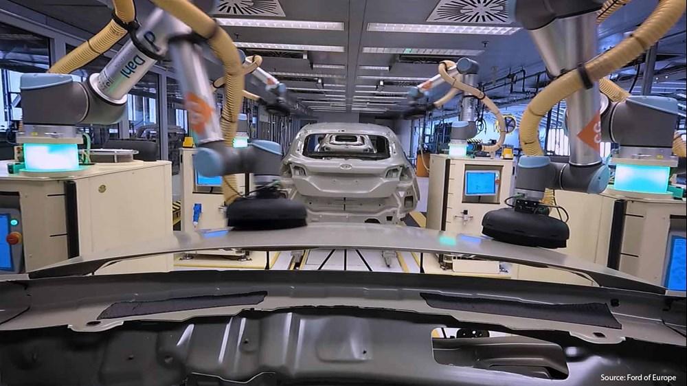 优傲机器人发力汽车制造,推出全新电缆套件及示教器