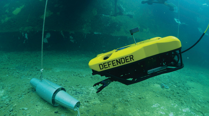 VideoRay 水下机器人为世界最繁忙的港口及水道保驾护航