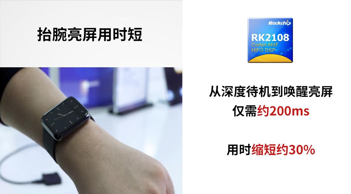 瑞芯微推出智能穿戴芯片RK2108D,「双待机」超低功耗设计