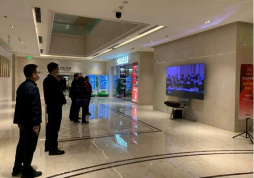 海信激光电视连续7年亮相全国两会代表团驻地