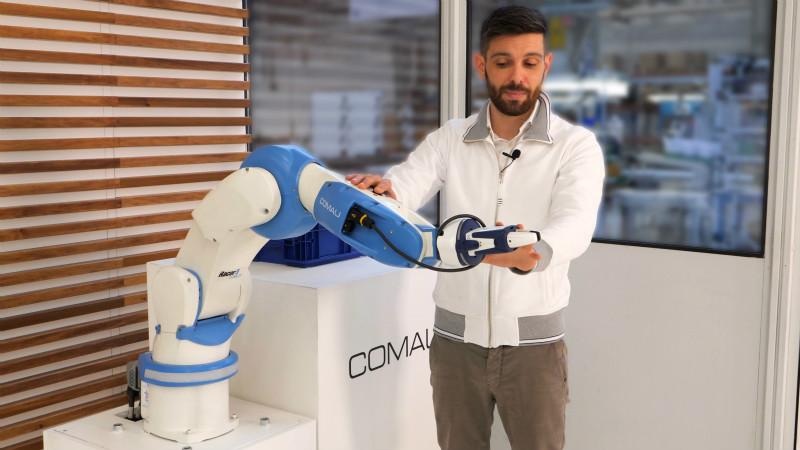 柯马推出具有工业级运行速度的新款高性能协作机器人RACER-5 COBOT
