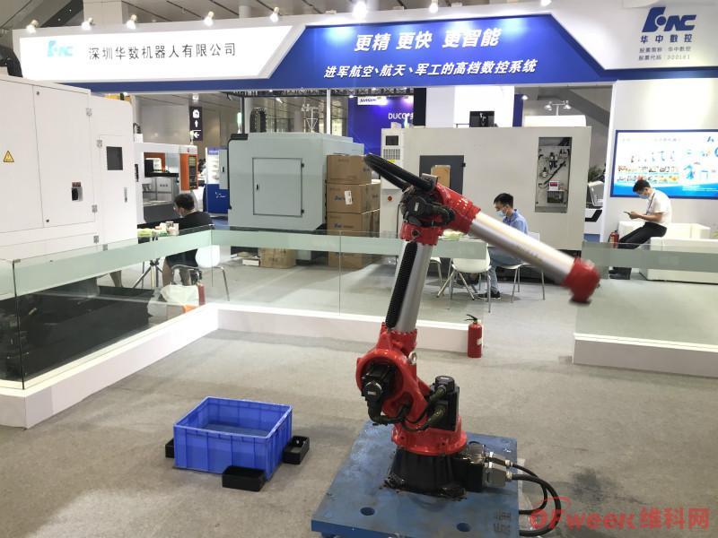 机器人年产量超4000台,营收占华中数控半壁江山