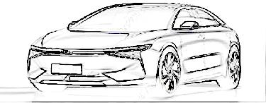 定位中高端纯电轿车 瑞腾RT1设计图首次曝光