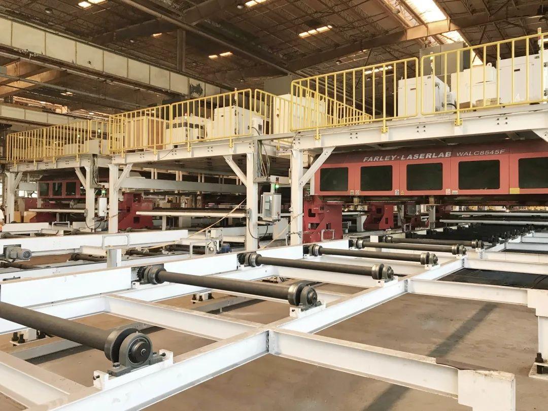 华工科技参与打造三一专汽备料线项目获三一科技节工艺进步奖