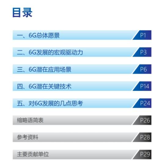 新热点!《6G总体愿景与潜在关键技术》白皮书 (资料下载)