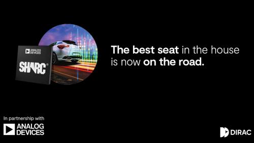 Dirac和ADI联手为汽车业提供可扩展的高品质音频