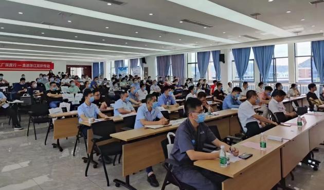 CAXA百家智能工厂深度行—走进浙江双环传动成功举办