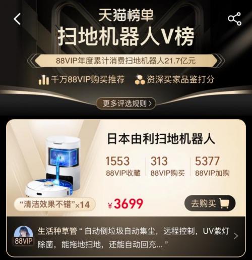 UONI由利618完美收官:扫地机器人V980 Plus斩获类目销量TOP1