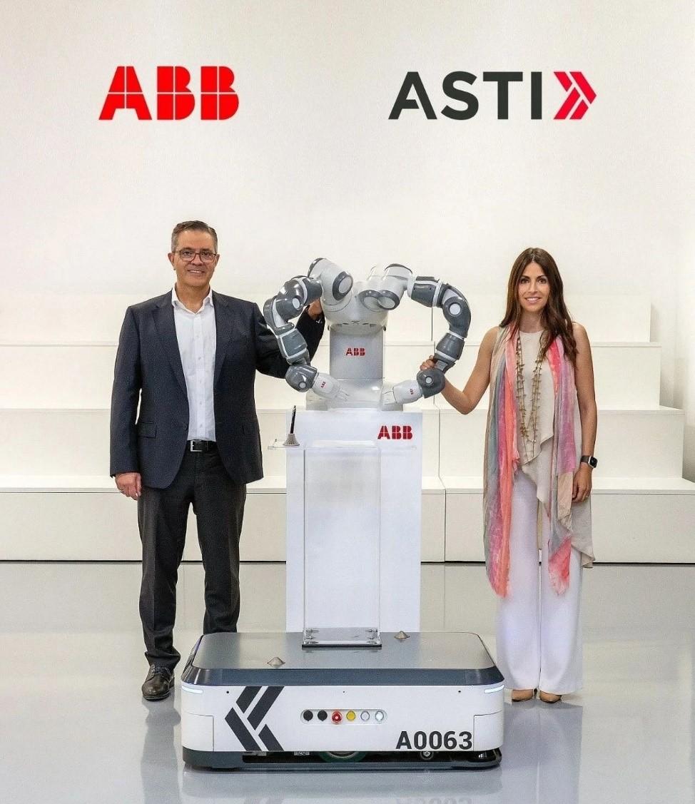 ABB将收购ASTI,加大自主移动机器人(AMR)领域布局