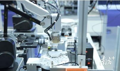 深圳高端制造增速明显:工业机器人产量比增近8成