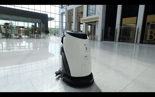 高频清洁+消毒,高仙机器人不仅是商用清洁那么简单