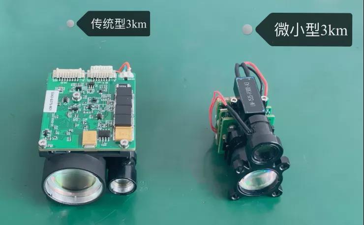 江苏亮点研制成功小于60g人眼安全微小型激光测距机