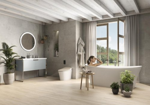 西班牙百年卫浴品牌Roca新酷玛系列上市,以色彩点亮卫浴生活