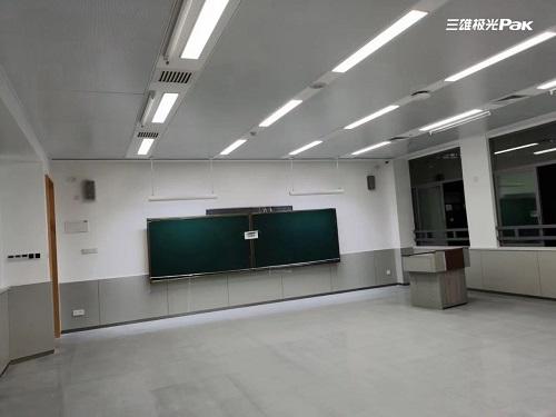 """""""圳""""不错!三雄极光又一校园照明案例"""