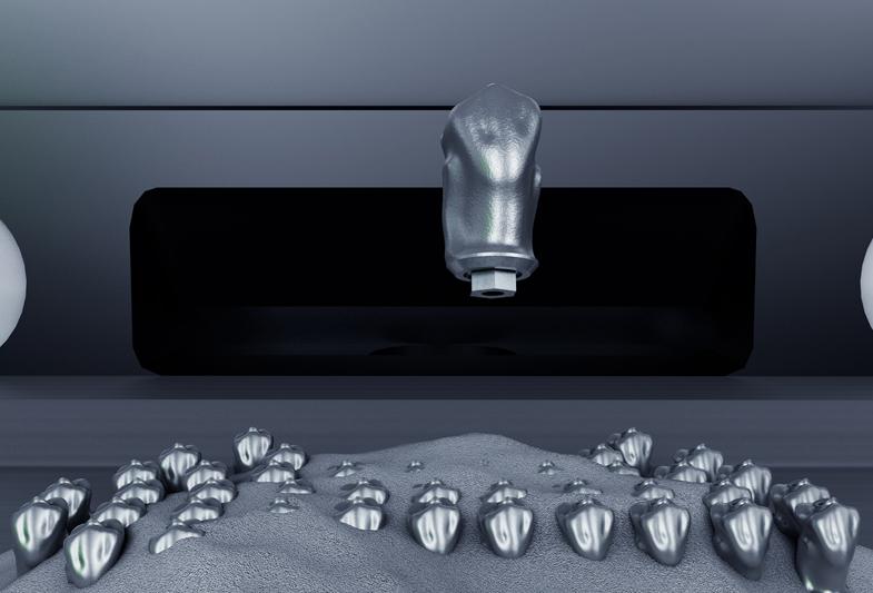 通快开发牙科激光打印技术