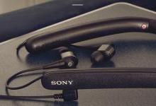 索尼颈挂式无线降噪耳机WI-1000X发布