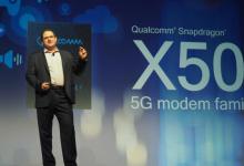 Qualcomm骁龙X50实现全球首个5G数据连接