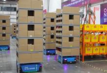 物流机器人仓升级推广 物流仓储智能化提速