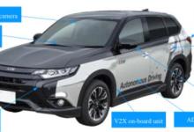 三菱电机自动驾驶结合多项技术路测