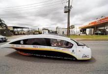 这种太阳能车或是旅游出行未来