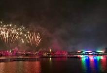厉害了,古镇!灯光节首日参观人数比去年增27.8%